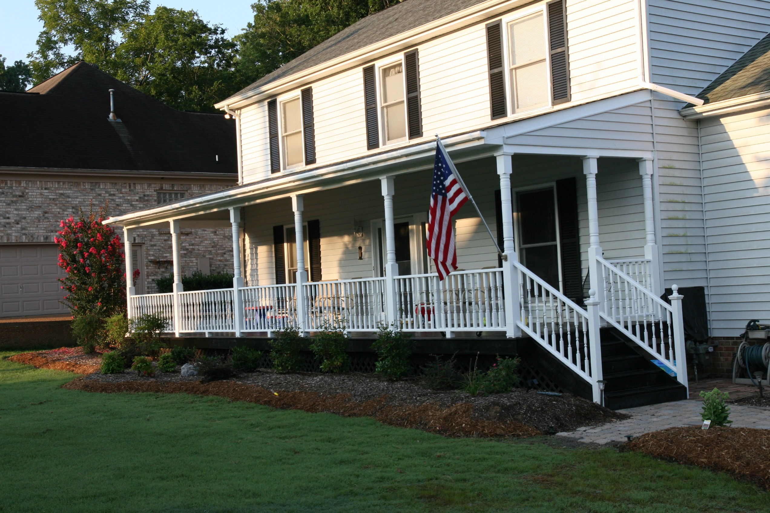Curb appeal can a front porch increase the value of your for House porch