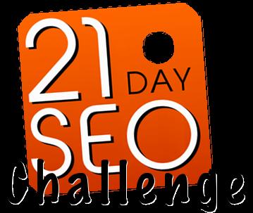 21 Day SEO Challenge Logo