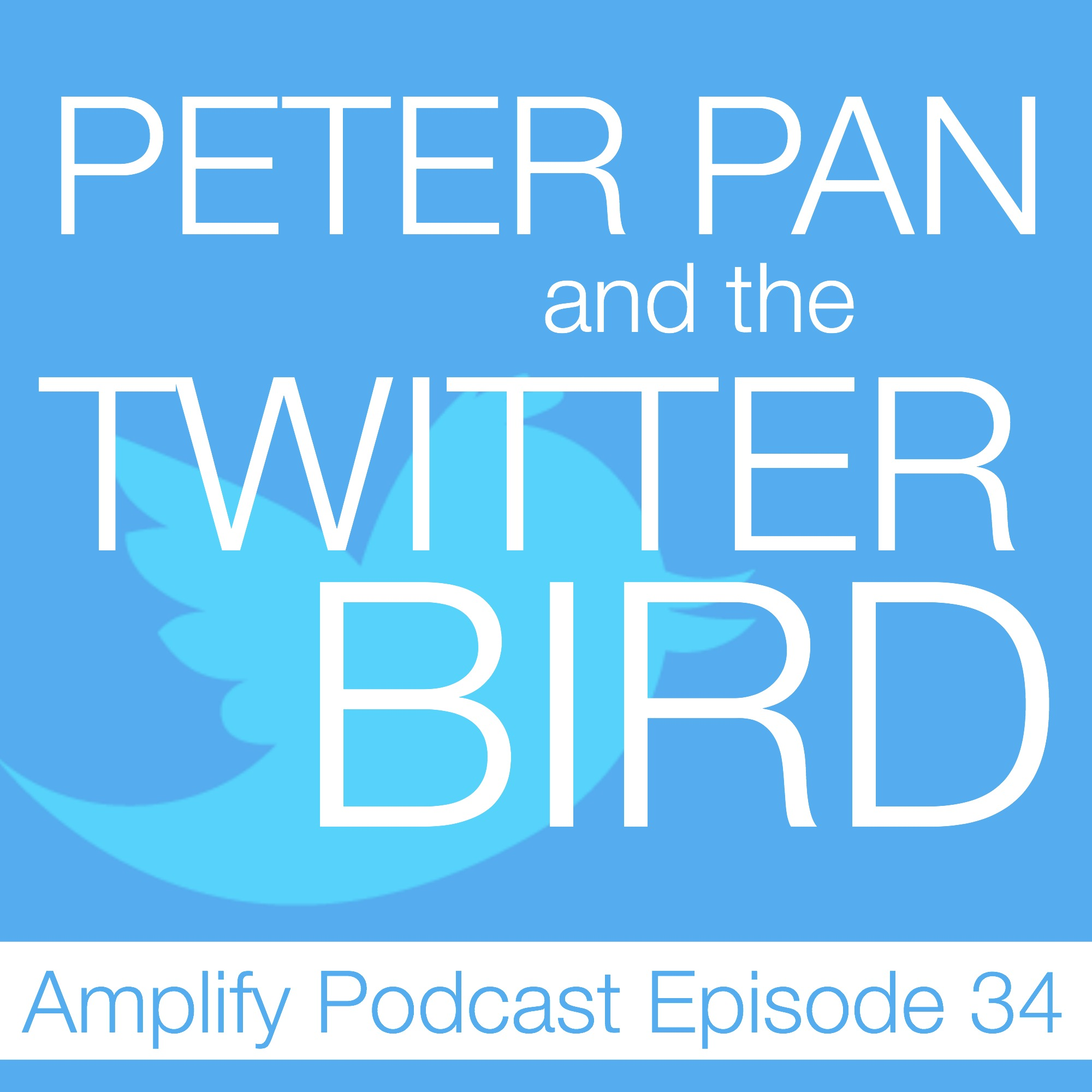 Peter Pan and the Twitter Bird