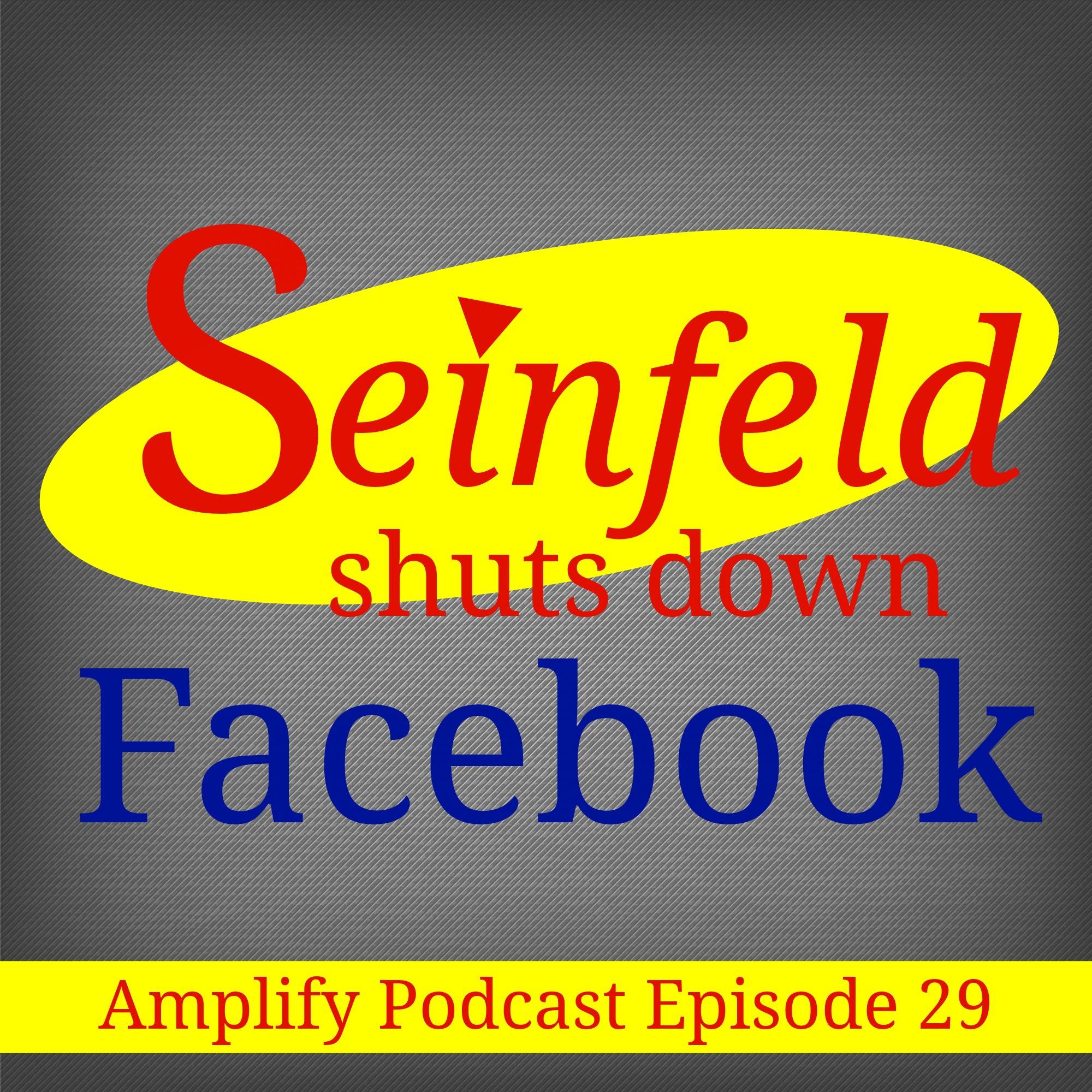 Seinfeld Shuts Down Facebook!