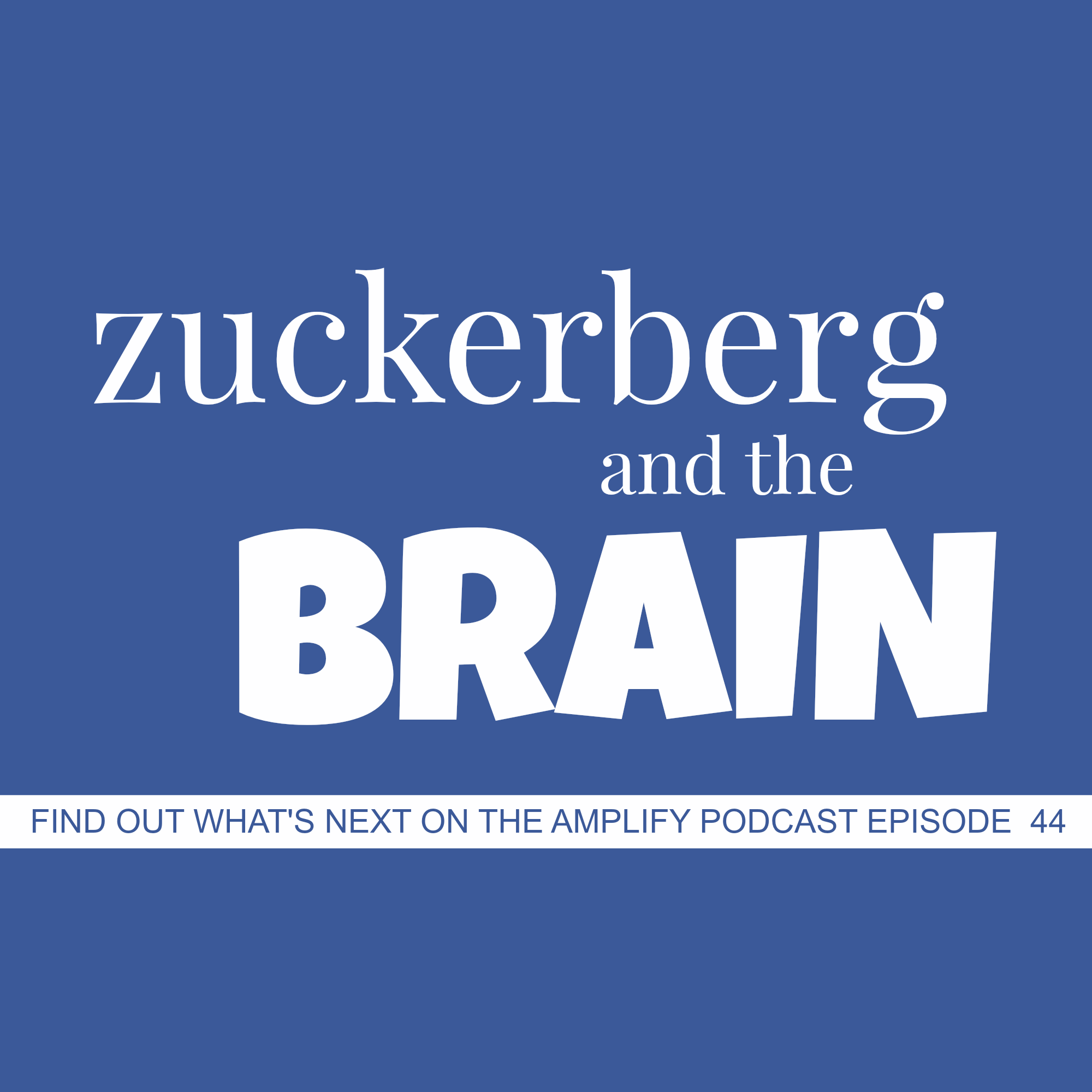 Zuckerberg and the Brain