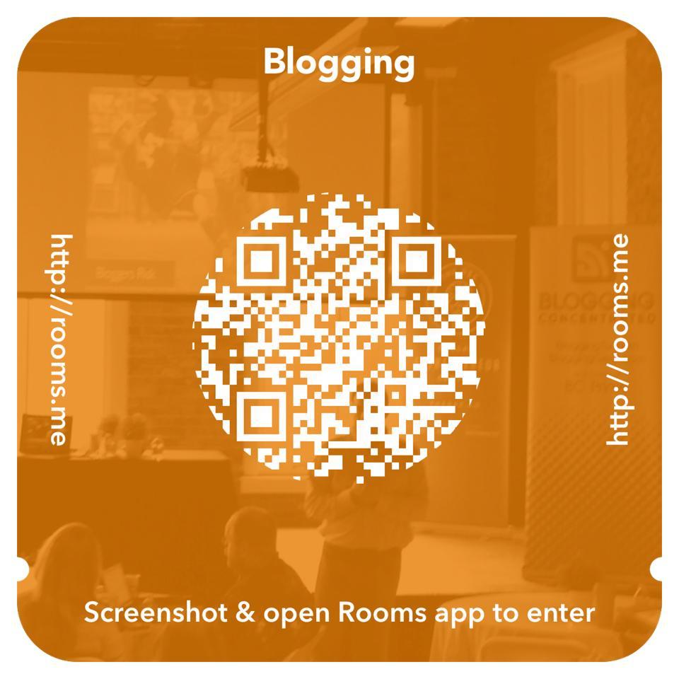 FacebookRoomsBlogging