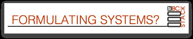 FORMULATINGSYSTEMS