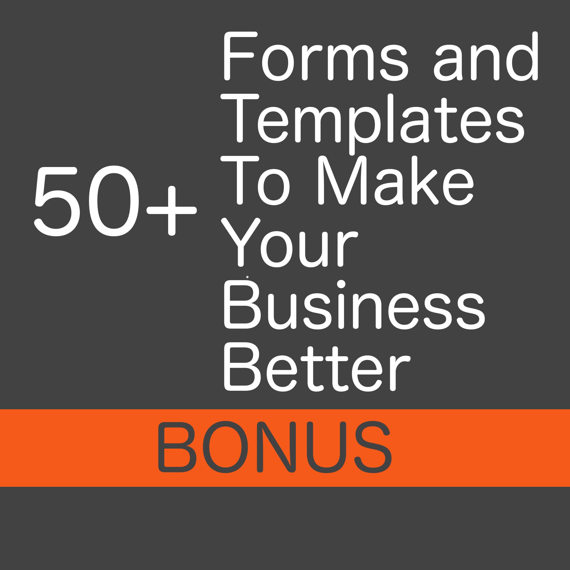 forms & tempates