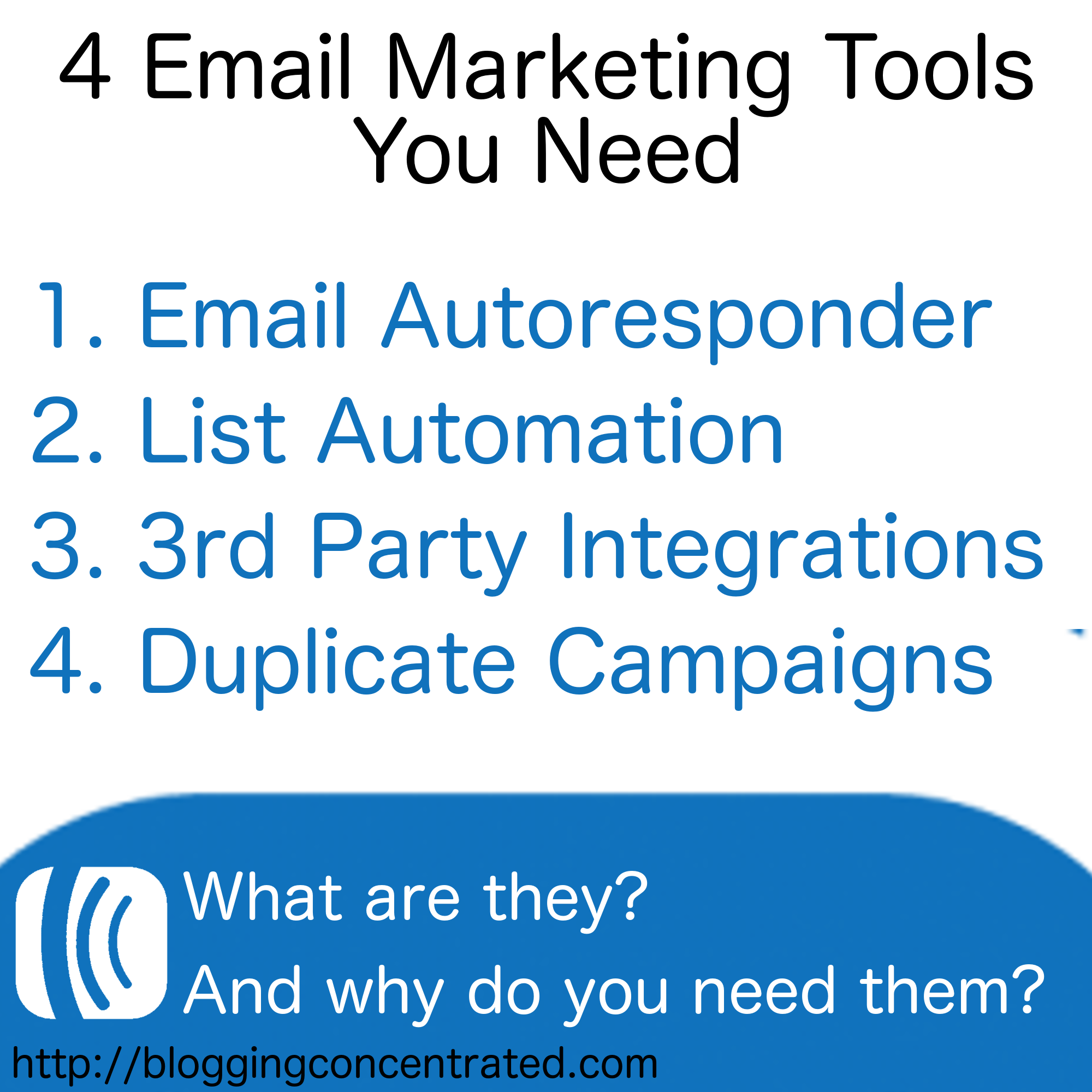 The Best Automated Email Marketing Services for Bloggers