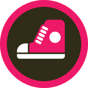 Shoe Store Foursquare Badge