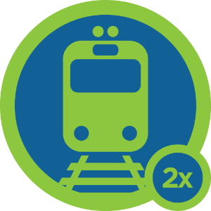 Trainspotting Badge